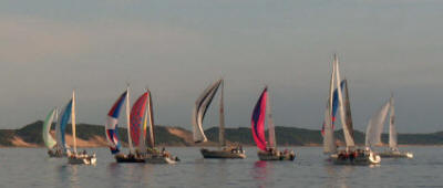 Wednesday Night Sailboat Races Sponsored by Bayshore Yacht Club